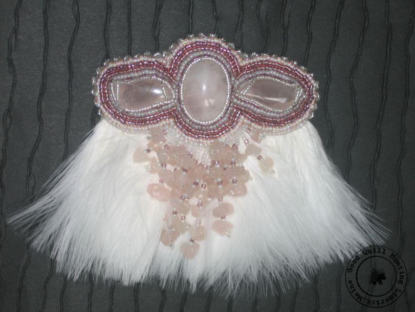 Marabou Feather Barrette